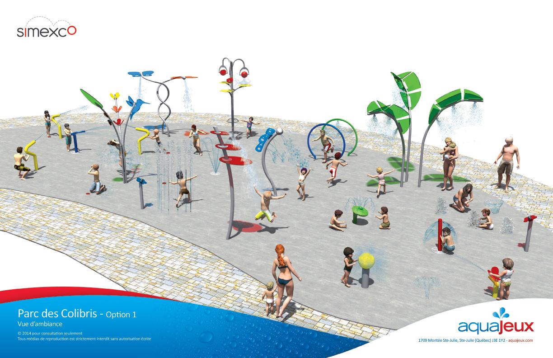 Exceptionnel Nouveaux jeux d'eau à St-Jean-sur-Richelieu IK05