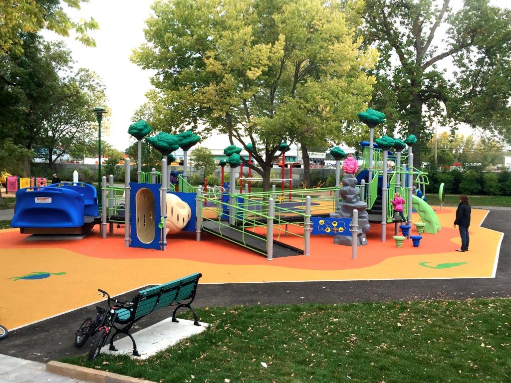 Inauguration du parc Pie-XII à Trois-Rivières