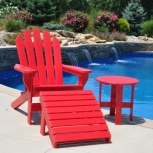 Chaise Adirondack Seaside