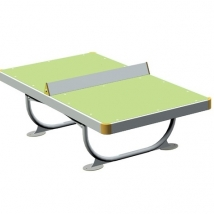La table de ping-pong inox