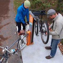 Station de réparation de vélo de luxe Cyclohalt