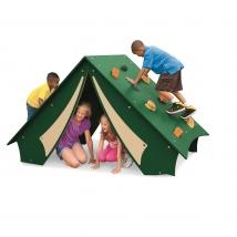 Tente de camping sauvage