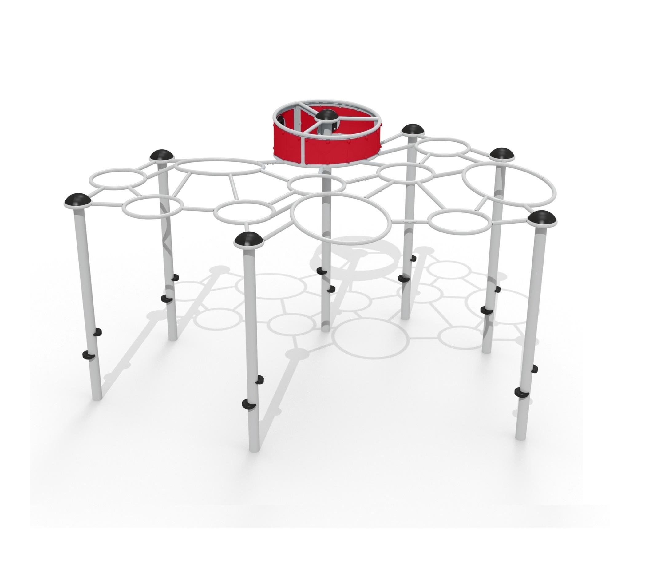 Grande échelle horizontale moléculaire