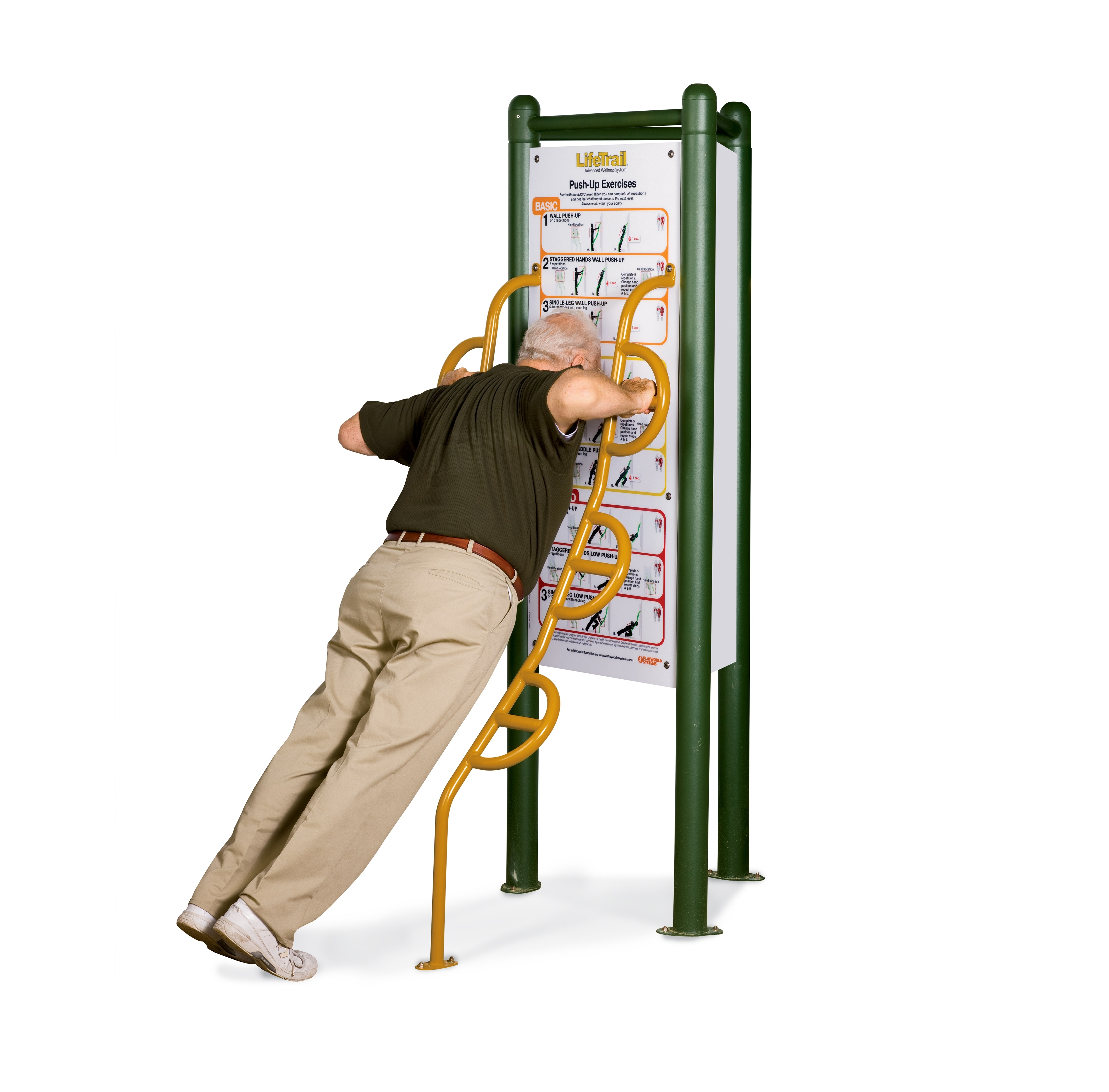 Exercices de pompes