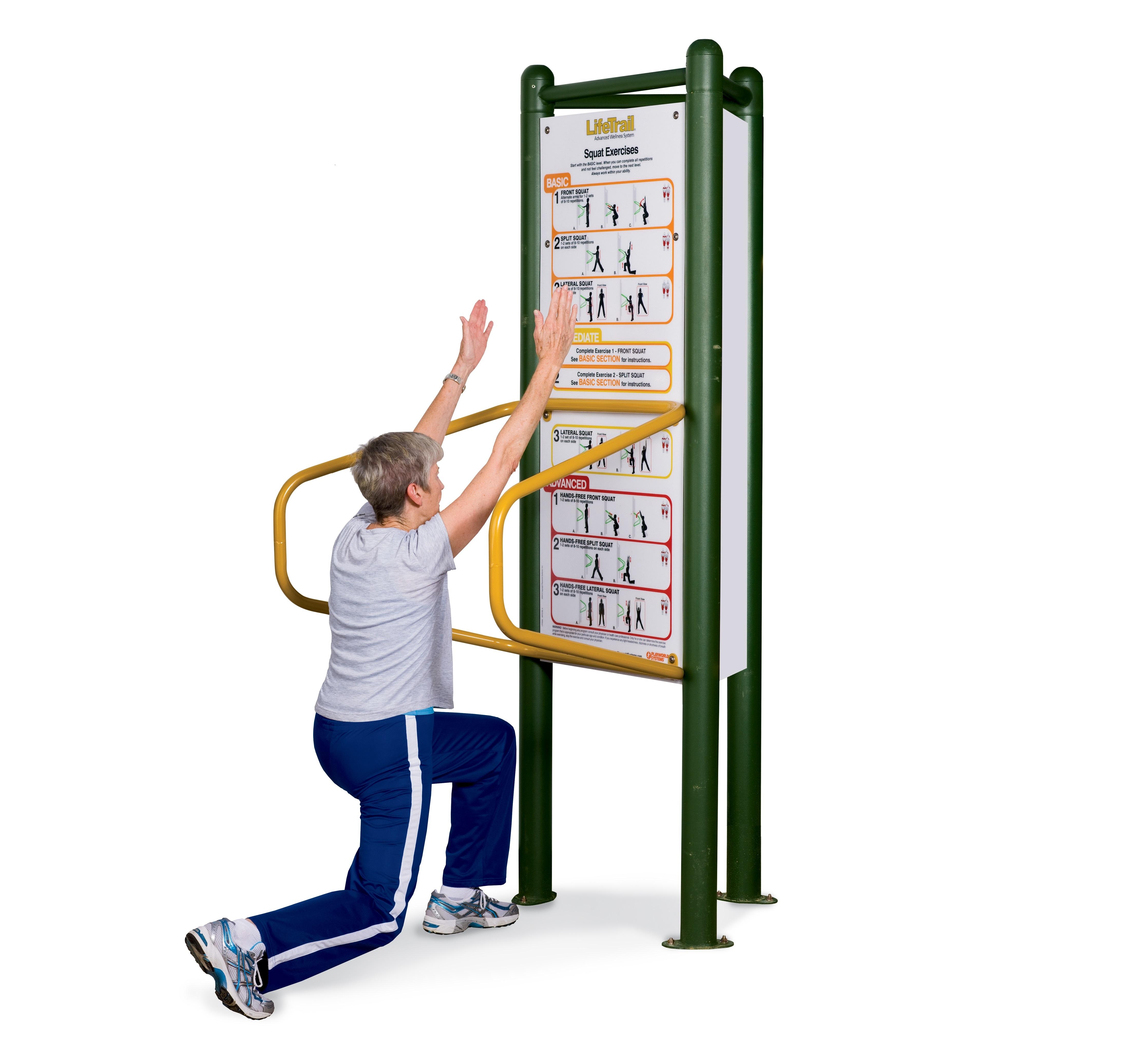Exercices de flexion des jambes
