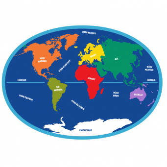 Le globe terrestre