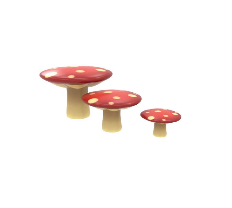 Chemin de champignons