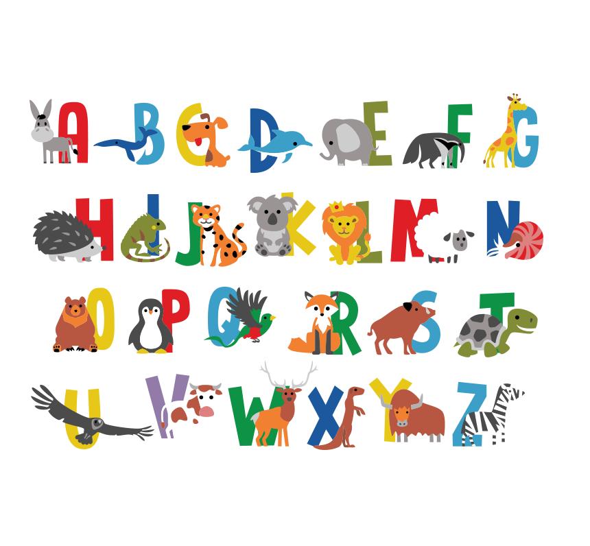 Alphabet animaux