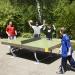 La table de ping-pong inox