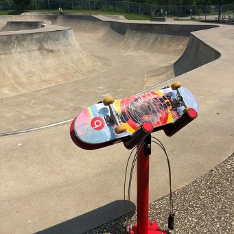 Station de réparation de planche à roulette Skatehalt