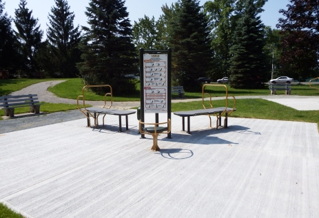 Parc Antonio-Montour, Sherbrooke