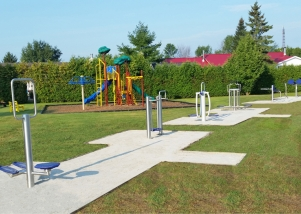 Parc Municipal, Ste-Barbe