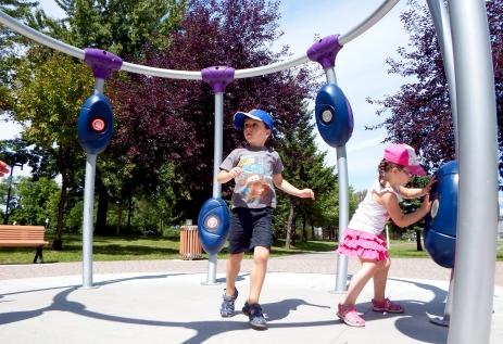 Parc Clémentine-de-la-Rousselière, Arr. Rivière-des-Prairies-Pointe-aux-Trembles, Montréal