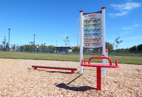 Parc Félix-Leclerc, Arr. Mercier-Hochelaga-Maisonneuve, Montréal